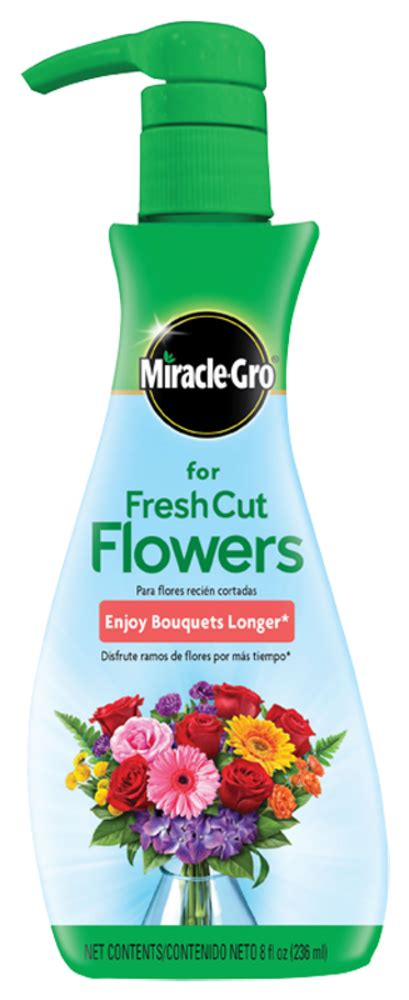 plant food for cut flowers miracle gro for fresh cut flowers flower food miracle gro