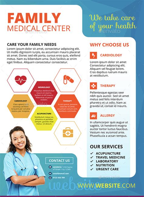 free medical brochure templates csoforum info