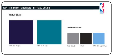 2014 15 hornets official colors the official