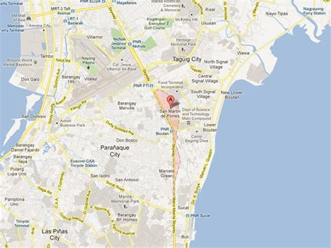 map of paranaque city para 241 aque station chief wanted for of minor