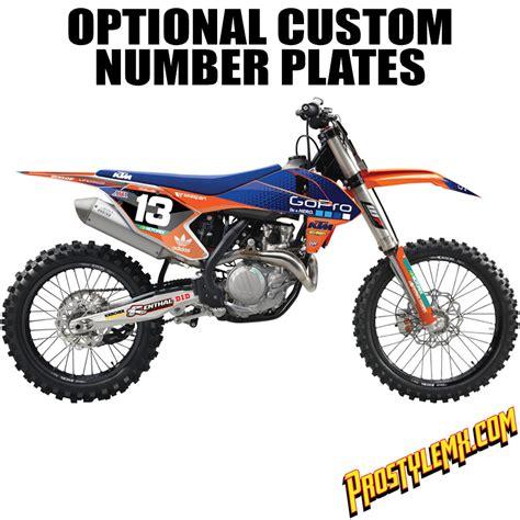 motocross go pro 2016 tld gopro ktm graphic kit pro style mx