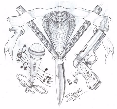 tattoo gun designs hannikate shooter gun tattoos designs