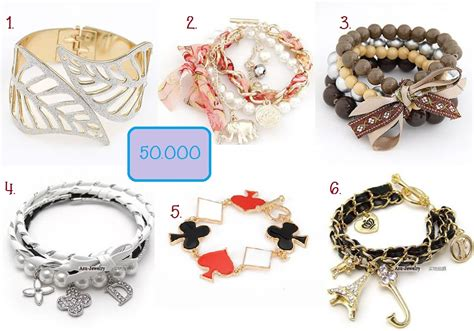 Gelang Korea China White Rivet Layer Pu Korean Fashion 06 september 2014 shining yesung shop