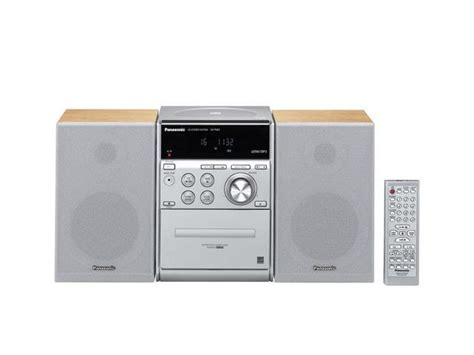 cd cassette stereo shelf system panasonic cd cassette mp3 radio shelf system sc pm23 shelf