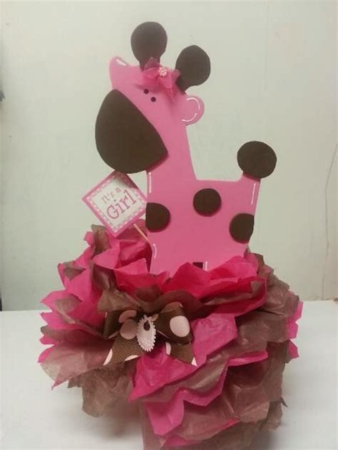 Pink Safari Baby Shower Ideas by Pink Safari Baby Shower Ideas Pink Giraffe Centerpiece
