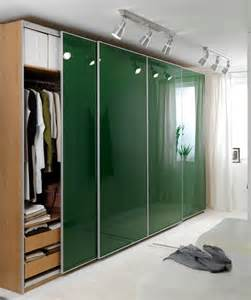 ikea pax ardal green sliding doors for wardrobe ebay