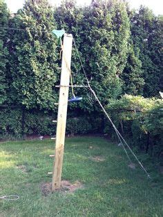 backyard zip line without trees 1000 ideas about zip line backyard on pinterest backyards fire pit swings and best