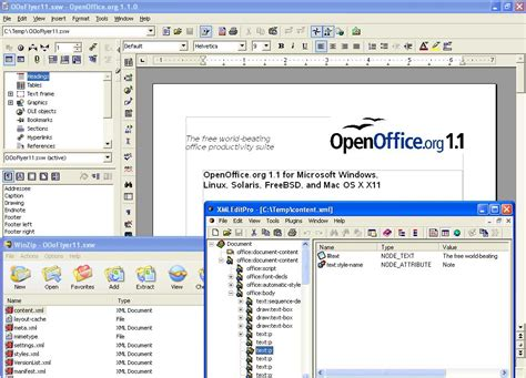 Format File Open Office | openoffice org xml