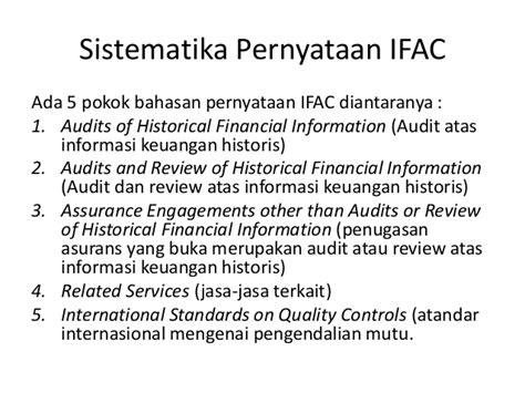 Auditing Dan Asurans ifac auditing
