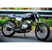 Yamaha RX 135 FAITH Cafe Racer By Srikanth Naidu