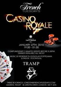 casino royale tramp london french tuesdays