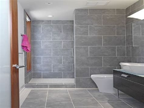 Grey Tile Bathroom Ideas Grey Bathroom Tile Design Ideas And More