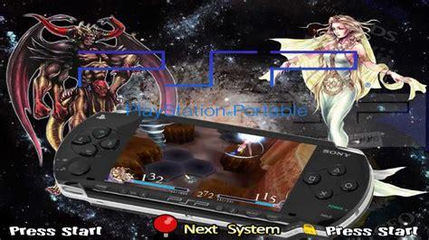 theme psp ps3 custom hyperspin main menu theme playstation portable psp