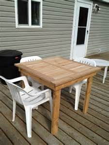 Diy Patio Table Plans Diy Patio Table Plans Diy Projects