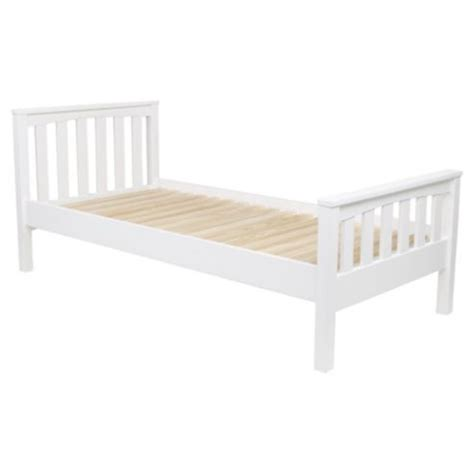 Wooden Bed Frame Single Harvey Single Wooden Ivory Bed Frame Single Wooden Beds Beds And Wooden Beds