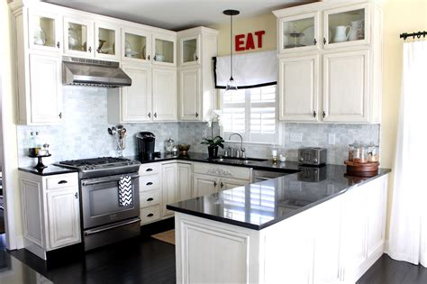 Kitchen Remodels With White Cabinets Small White Kitchen Designs One Decor