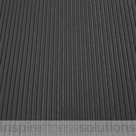 10 mm ribbed rubber matting narrow ribbed matting roll l10mtr x w1 2mtr x 6mm thick