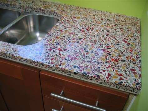 Glass Cement Countertops by Concrete Countertop Flickr Photo