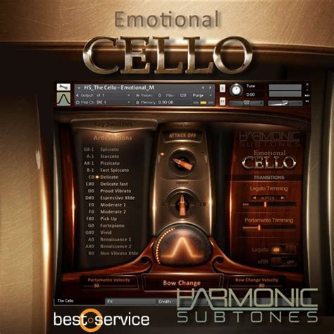 emotional service emotional cello best service emotional cello audiofanzine