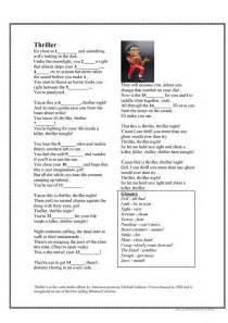 intermediate esl worksheets michael jackson biography halloween song thriller michael jackson worksheet