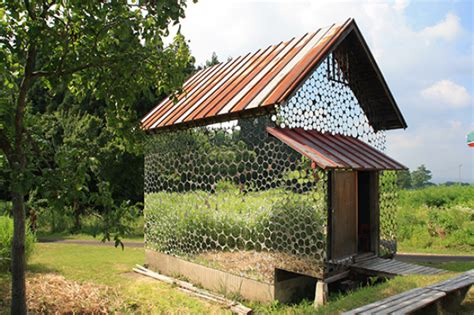 mirrored house house covered with thousands of round mirrors wave avenue