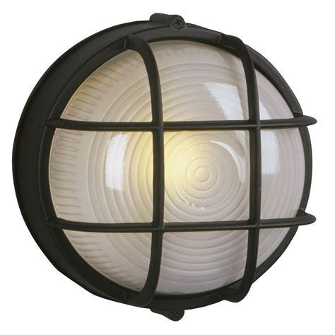 Bulkhead Lights Outdoor Marine Bulkhead Outdoor Wall Light In Black 305012 Bk Destination Lighting
