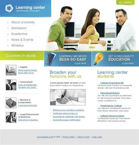 education website education website template 11898