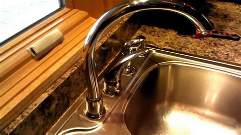 Moen High Arc Kitchen Faucet Leaking O Ring Replacement   YouTube