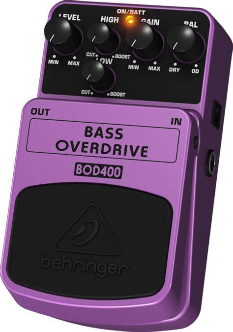 Behringer Bass Overdrive Bod400 behringer bod400 bass overdrive pedal compass