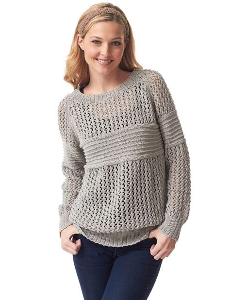 sweater knitting pattern lace pullover knitting patterns in the loop knitting