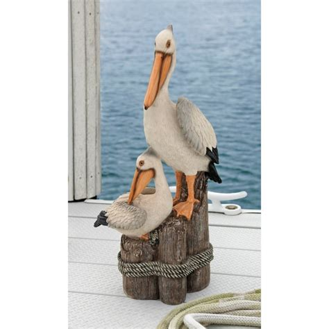 pelican home decor pelican statue nautical yard decor whyrll