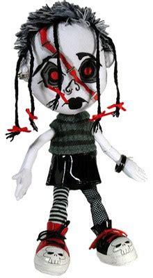rag doll livin in a living dead dolls plush creepy cuddler ragdolls living