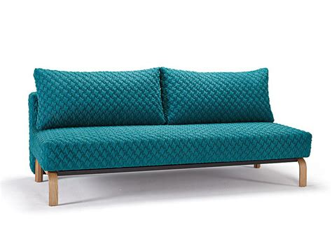 sofa bed blue blue contemporary sofa bed with texture upholstery and oak