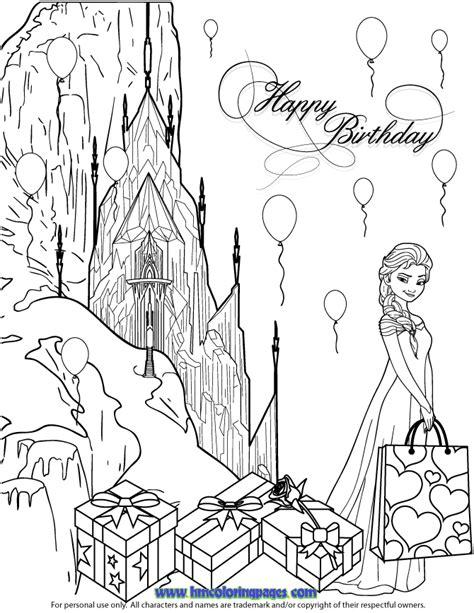 elsa birthday coloring page disney frozen trolls coloring page coloring pages
