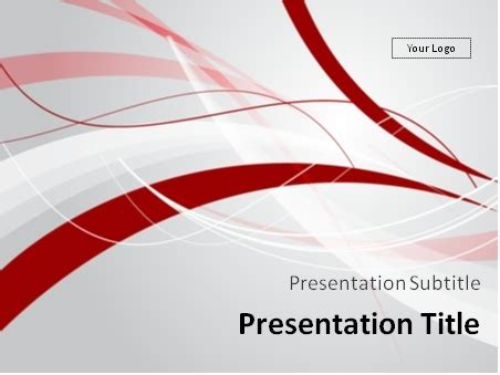 ppt templates free download red download red and gray windy abstract background powerpoint
