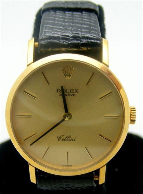 Jam Tangan Rolex Genuve Cellini 2 rolex geneve cellini 18 kt yellow gold