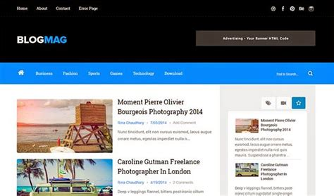 Best Free Blogs Top 60 Best Free Responsive News Themes 2019