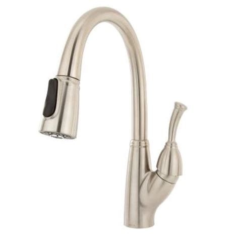 delta allora kitchen faucet delta allora single handle pull down sprayer kitchen