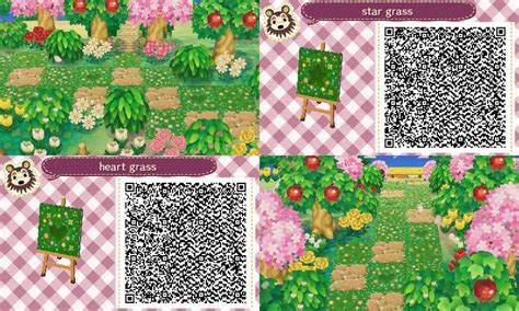 acnl spring colors animal crossing new leaf hhd qr code paths