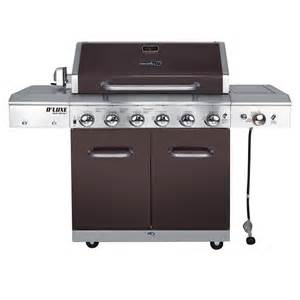 grills for at home depot nexgrill deluxe 6 burner propane gas grill in mocha with