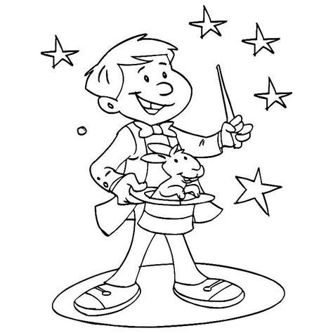 1409559351 activites avec les magiciens nos jeux de coloriage cirque magicien 224 imprimer gratuit