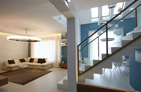 casa de interiores dise 241 o casa moderna dos plantas y planos