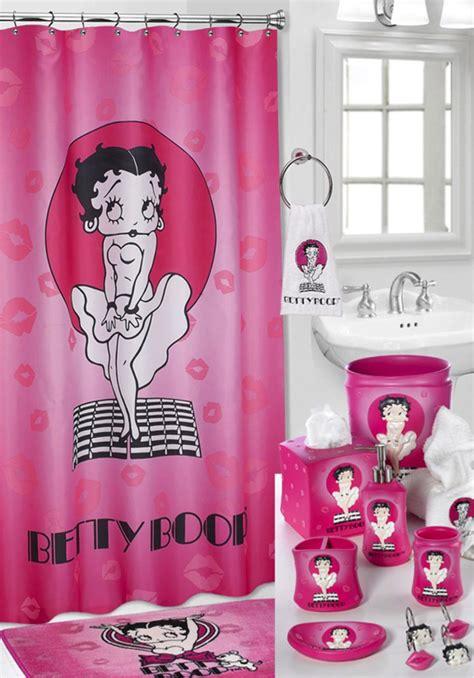 betty boop bathroom betty boop bathroom set livens up your powder room over
