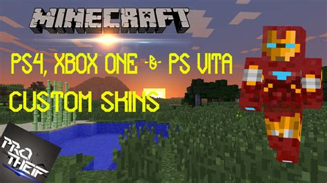 minecraft ps vita mods minecraft ps4 xbox one ps vita custom skins youtube