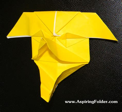 Origami File Folder - origami mask aspiring folder
