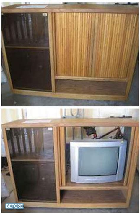 repurposing stereo cabinet just b cause