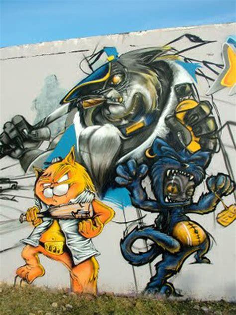 cartoon graffiti wall picture graffiti tutorial