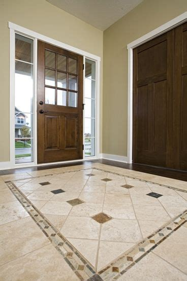 foyer flooring ideas amazing foyer tile floor designs 12 excellent foyer