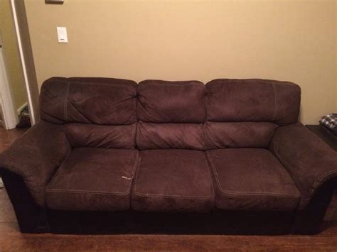 free leather couch free brown suede and leather couch north saanich sidney