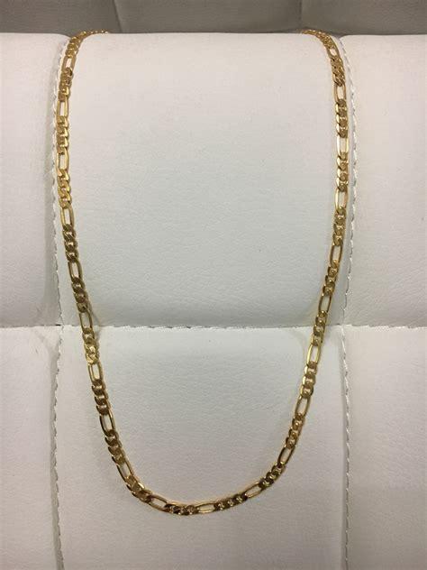 cadenas de oro 18k hombre cadena cartier acero enchape en oro 18k hombre 20 pulgadas